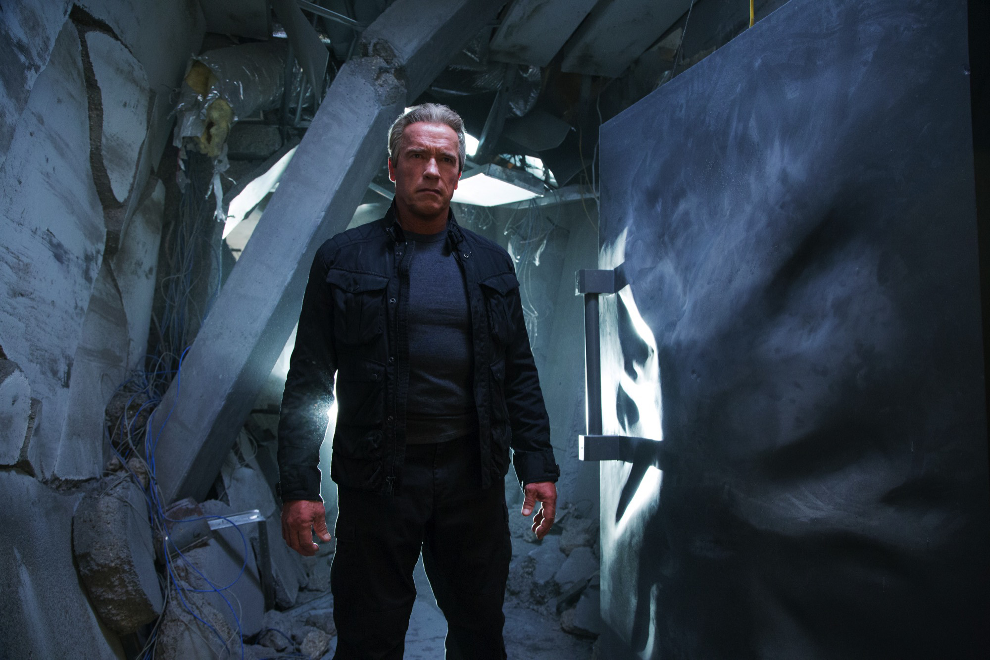 Arnie's Back For Terminator Genisys