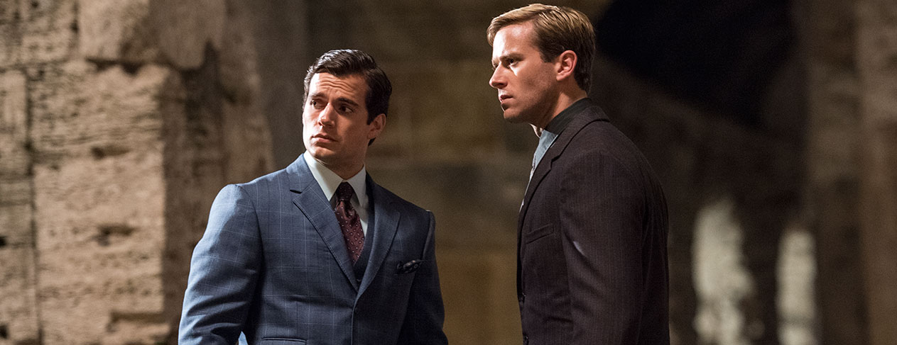 Henry Cavill & Armie Hammer Show Off Slick Spy Moves In The Man From U.N.C.L.E