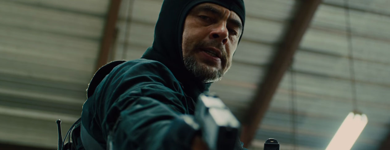 Benicio del Toro Is The Man Behind The Trigger In 'Sicario'
