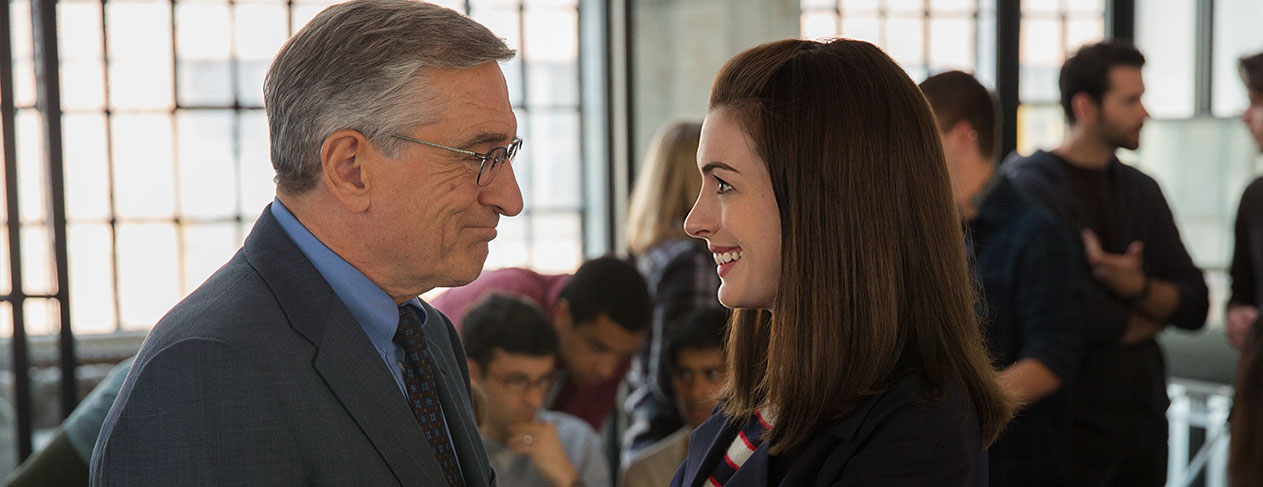 Robert De Niro Joins the Corporate World as 'The Intern'