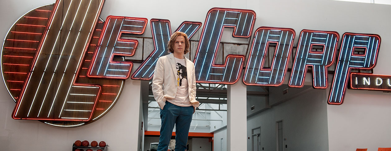 Lex Luthor is a man on the verge of greatness