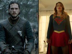 Geekiness Day Television Geeks Jon Snow Supergirl SpicyPulp