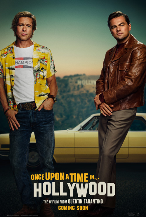 Once Upon A Time In Hollywood Leo Brad Poster SpicyPulp