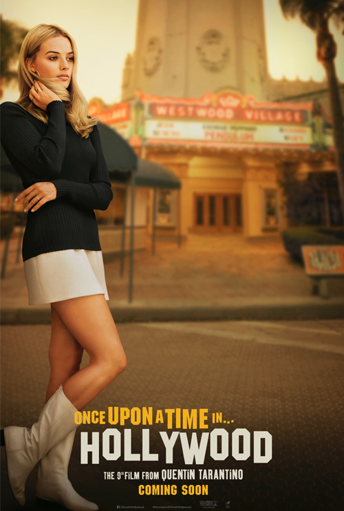 Onec Upon A Time In Hollywood Margot Poster SpicyPulp
