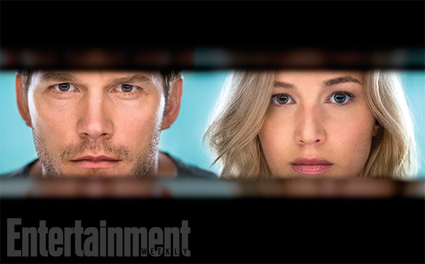 Passengers Chris Pratt Jennifer Lawrence SpicyPulp