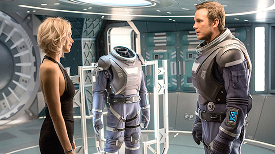 Jennifer Lawrence & Chris Pratt head into deep space in 'Passengers'