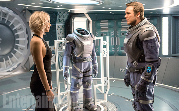 Passengers Jennifer Lawrence Chris Pratt SpicyPulp