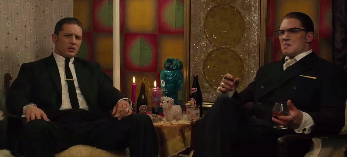 Tom Hardy Channels Double Trouble In 'Legend'