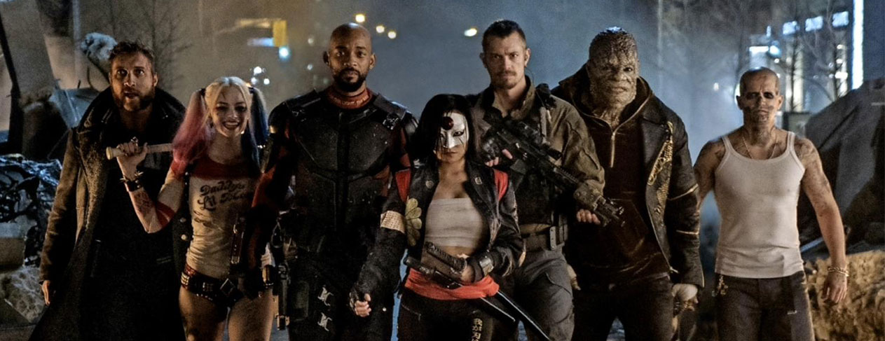 Check out the latest images of the 'Suicide Squad'