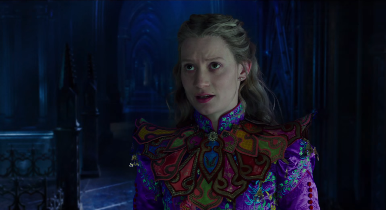 See the enthralling full trailer for 'Alice Through the Looking Glass'