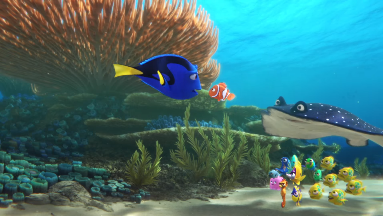 The first trailer for 'Finding Dory' is finally here