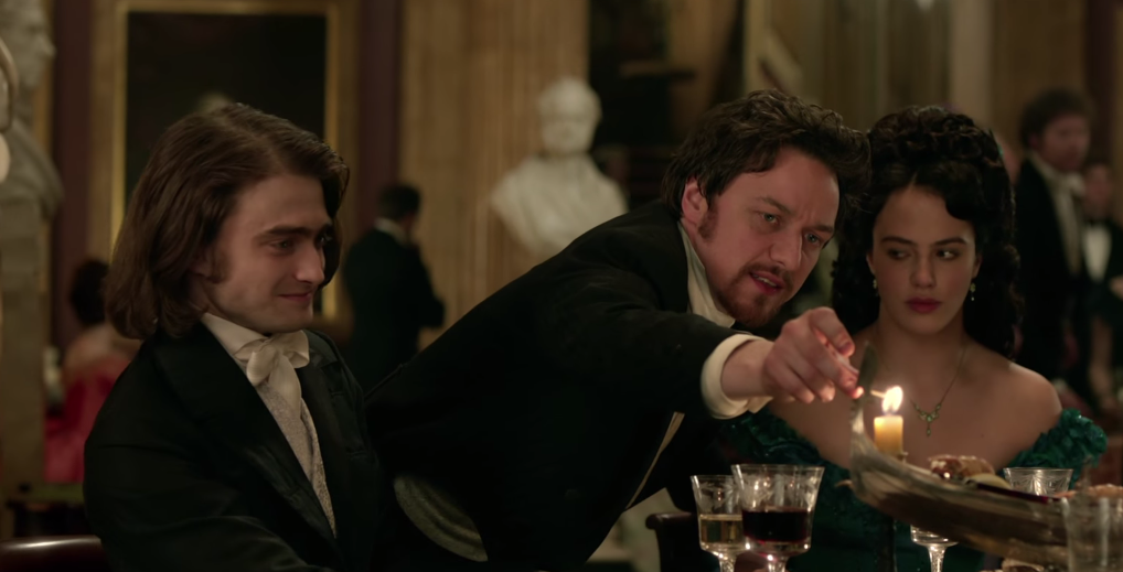 Intentions are made clear in this new clip from 'Victor Frankenstein'