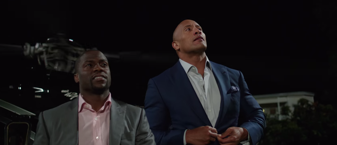 'Central Intelligence' gets a totally boss teaser