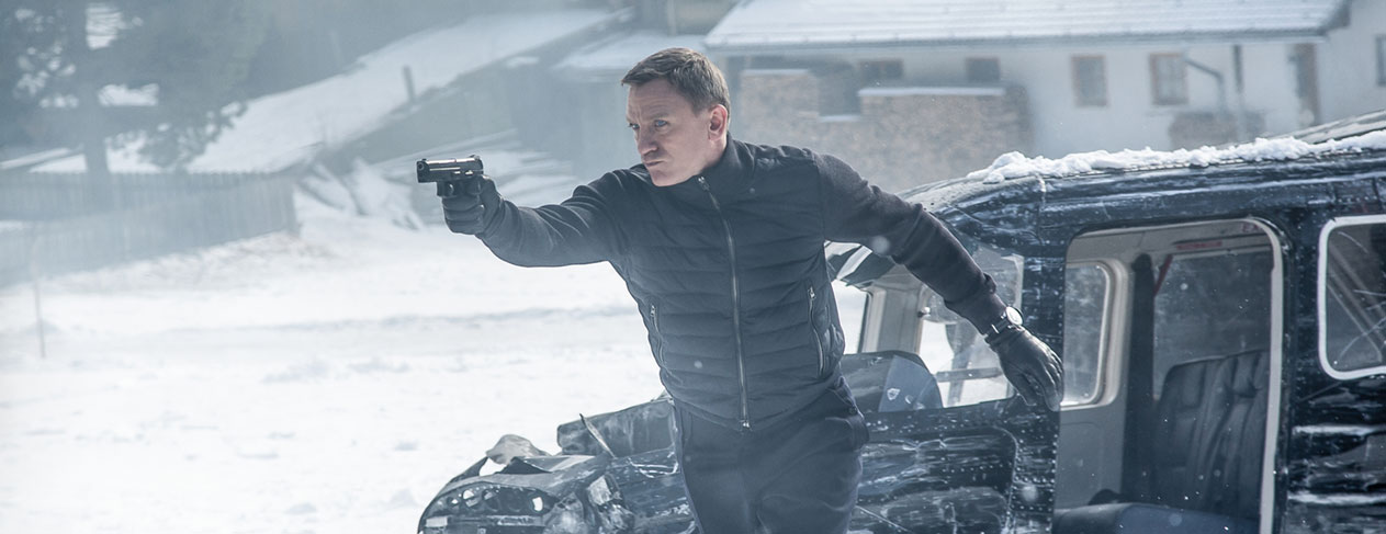 Five reasons to watch 'Spectre'