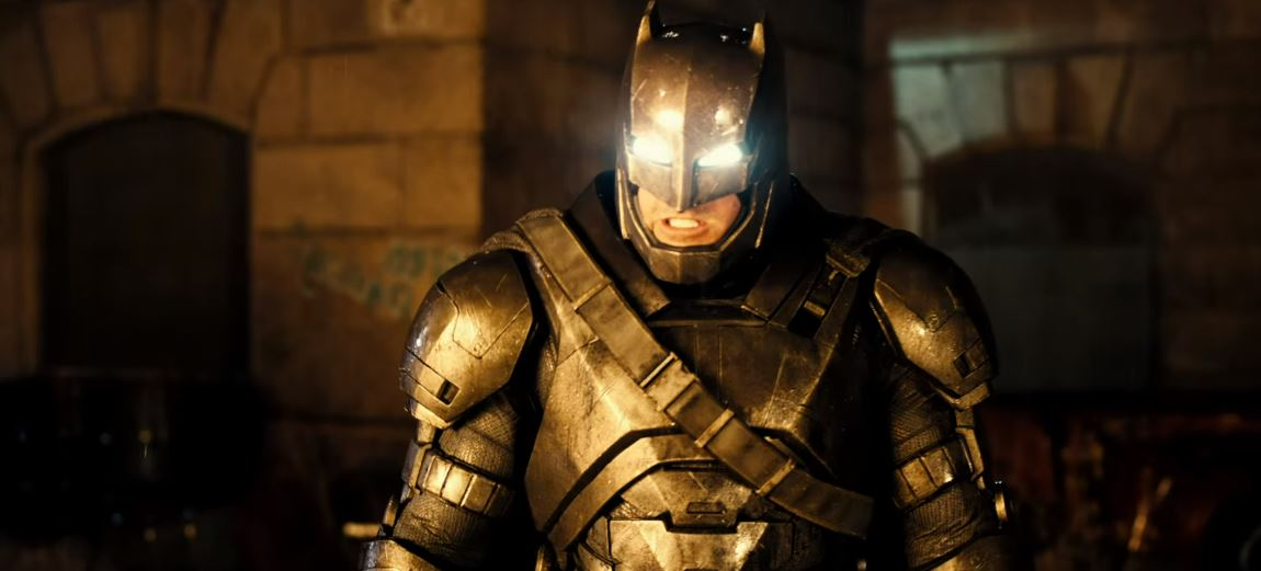 The fight is on in the epic new trailer for 'Batman v Superman: Dawn of Justice'