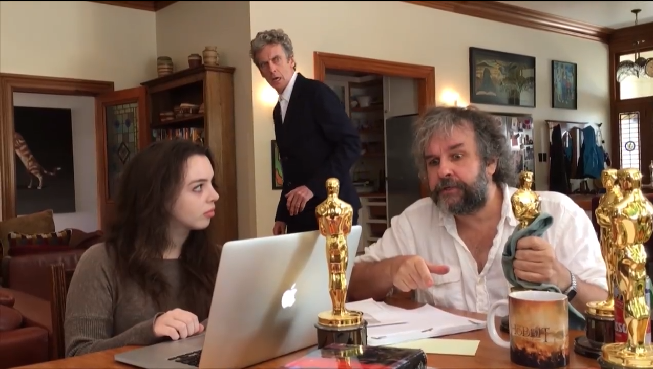 Peter Jackson could be directing an episode of 'Doctor Who'