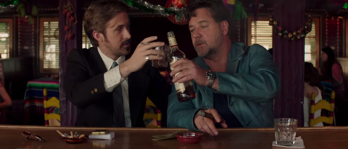 Serious swagger promised in Shane Black's 'The Nice Guys'