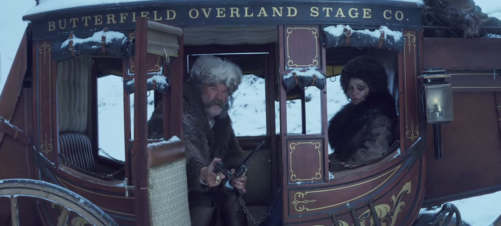 Go behind the scenes for 'The Hateful Eight'