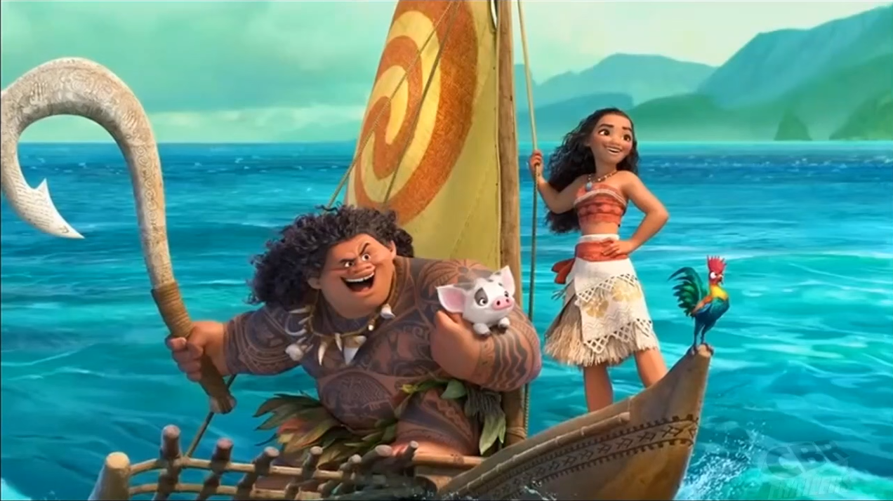 Disney releases a snippet of 'Moana' footage