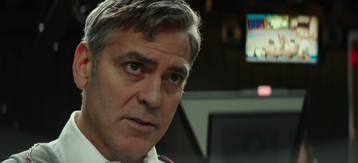 George Clooney finds himself in a tough place in the first trailer for 'Money Monster'