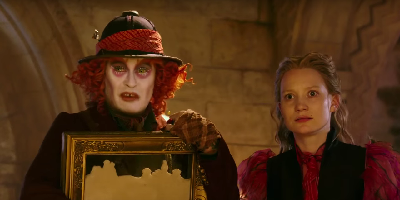 'Alice Through the Looking Glass' teaser features voice of Alan Rickman
