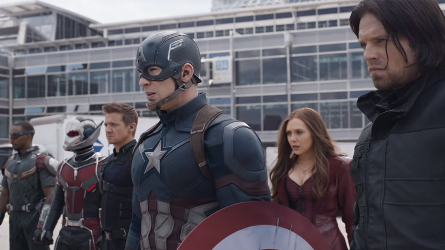 'Captain America: Civil War' Super Bowl spot