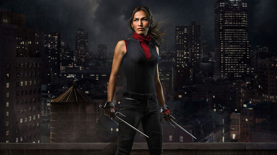Elektra revealed in new image for 'Daredevil'