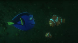 Can you find Dory in these new posters?