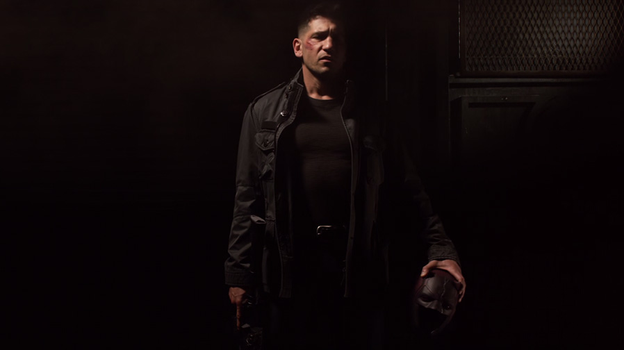 The Punisher steps out from the shadows in new promo