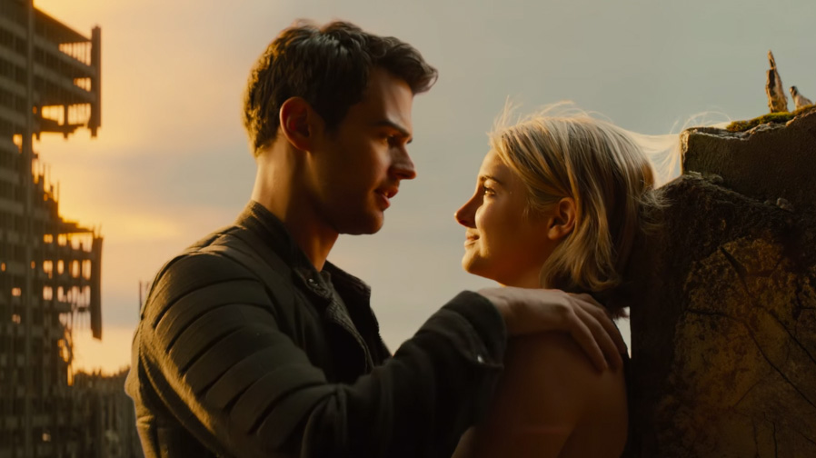 Tris and Four shine in new clips for 'The Divergent Series: Allegiant '