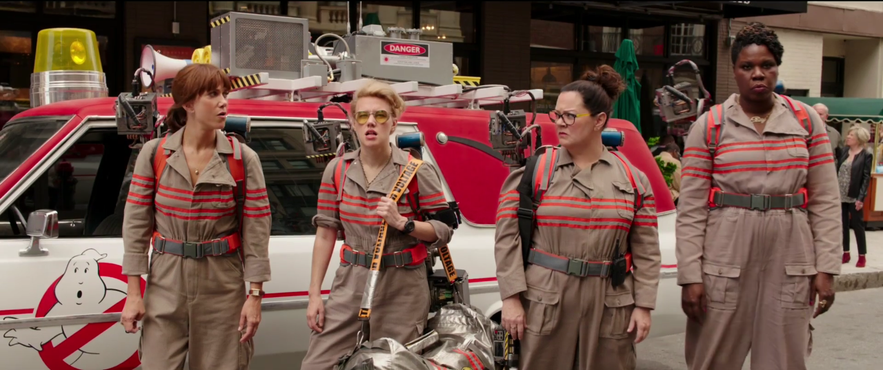 The first trailer for 'Ghostbusters' is here and it's everything!