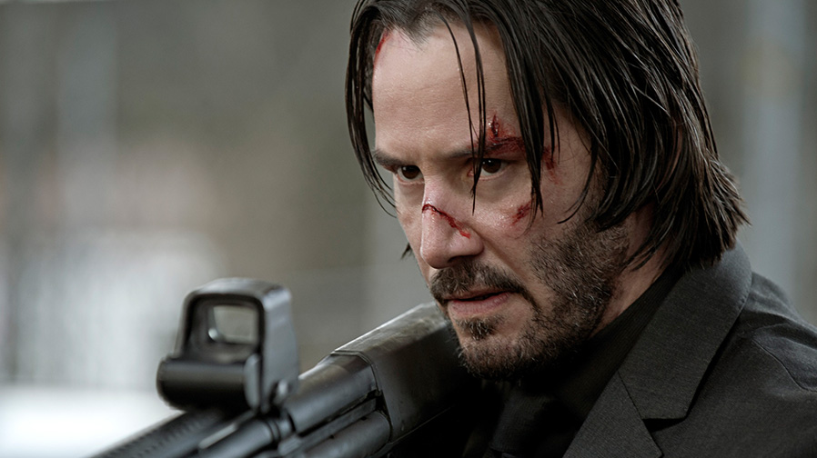 Keanu Reeves takes out targets as John Wick