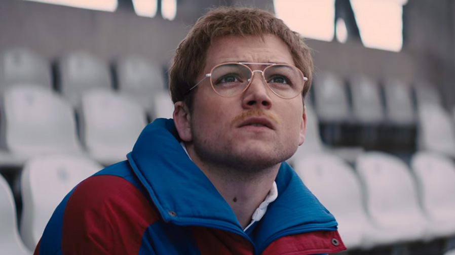 'Eddie the Eagle' charts Taron Egerton as rising star