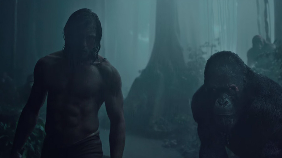 The wild roars in new trailer for 'The Legend of Tarzan'