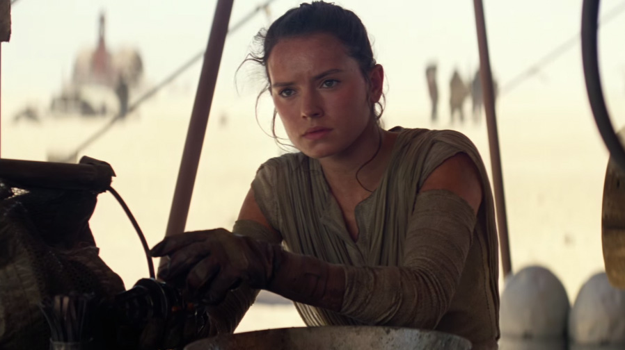 It's another sci-fi team up for J.J. Abrams and Daisy Ridley
