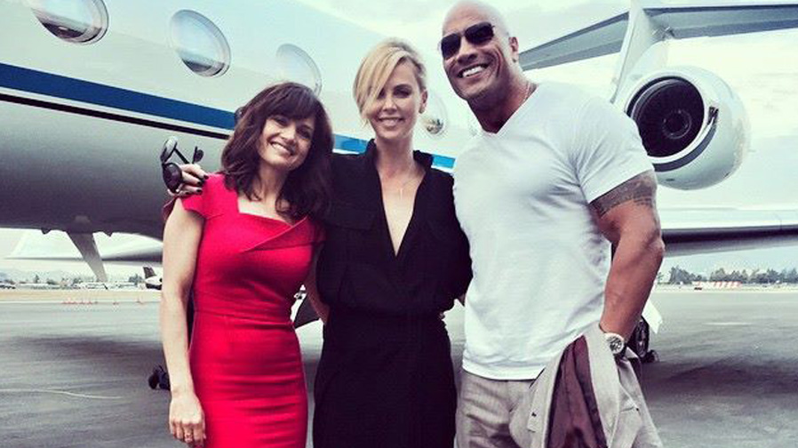 Cameras roll on 'Fast 8'