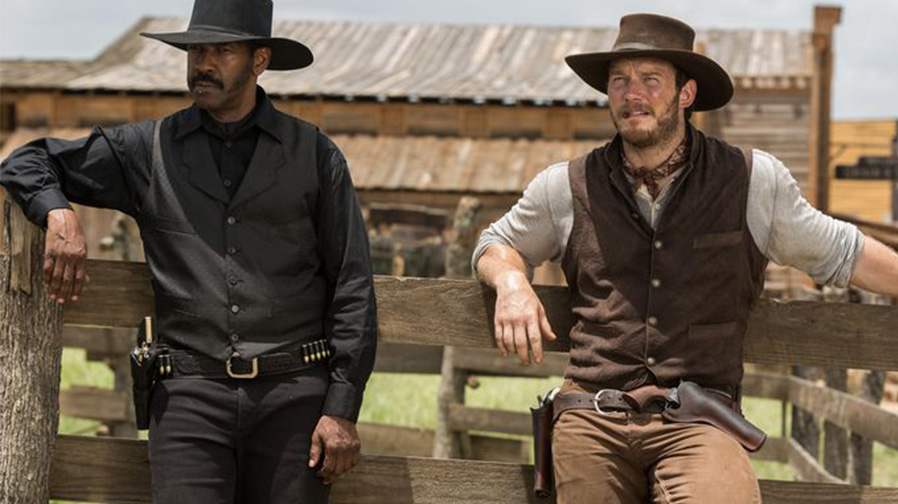Get ready for gunslinging action with 'The Magnificent Seven'