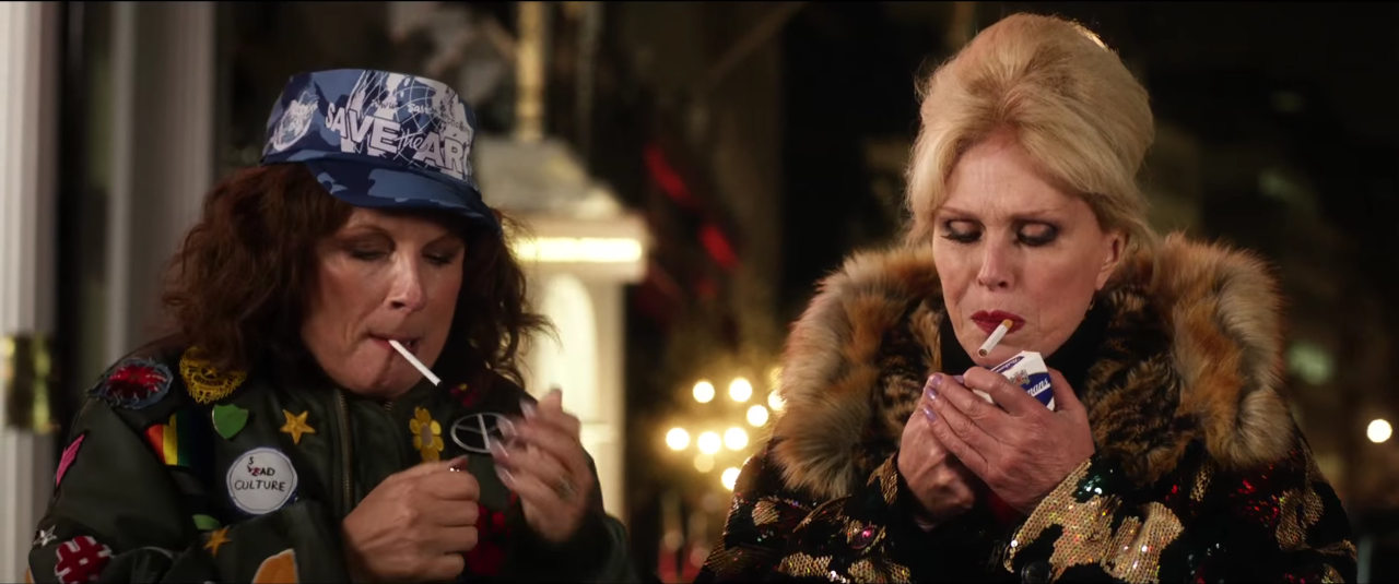 'Absolutely Fabulous' trailer is jam packed with stars