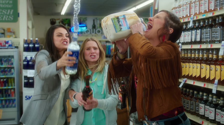 Mila Kunis is a matriarch gone wild in 'Bad Moms' trailer