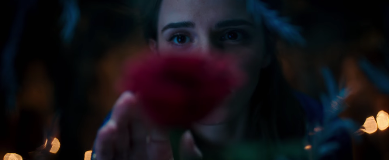 Emma Watson stuns in first 'Beauty and the Beast' trailer