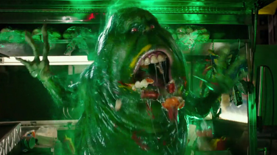 Stay Puft Marshmallow Man and Slimer haunt in new 'Ghostbusters' trailer