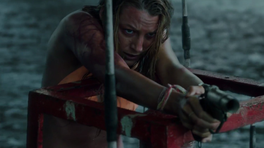 Blake Lively battles the terrors of the ocean in 'The Shallows'