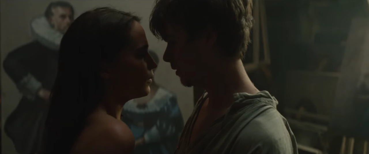 Alicia Vikander and Dane DeHaan reveal their strong chemistry in 'Tulip Fever' trailer
