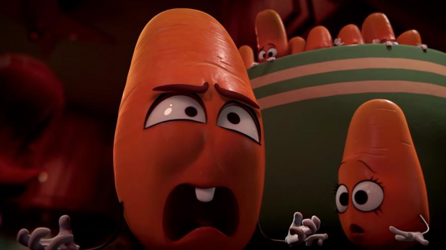 Seth Rogen unleashes kitchen mayhem in new 'Sausage Party' clip