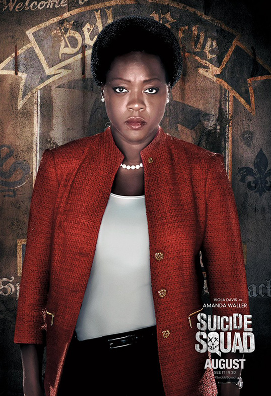 Suicide Squad Task Force X Posters Amanda Waller SpicyPulp