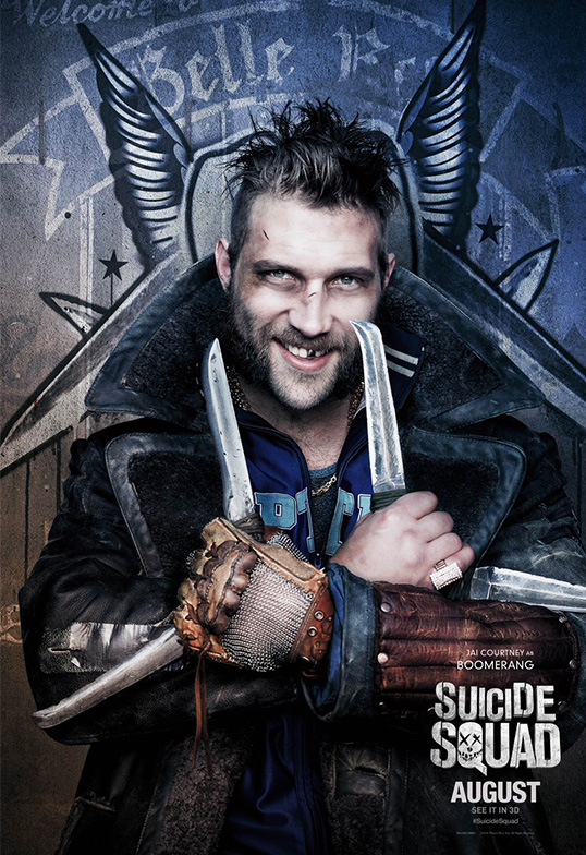 Suicide Squad Task Force X Posters Captain Boomerang SpicyPulp