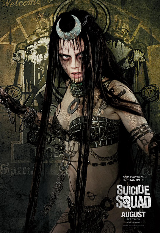 Suicide Squad Task Force X Posters Enchantress SpicyPulp