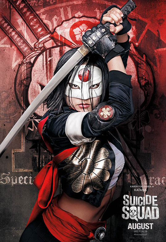 Suicide Squad Task Force X Posters Katana SpicyPulp