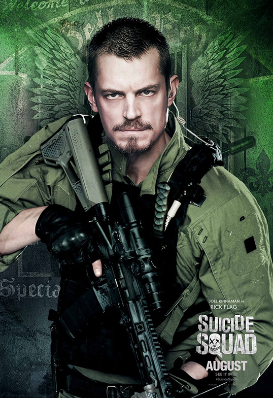 Suicide Squad Task Force X Posters Rick Flag SpicyPulp