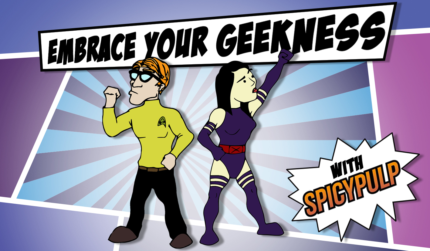 We're celebrating 'Embrace Your Geekness Day